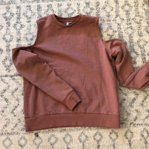 Asos sweatshirt with cutout shoulders